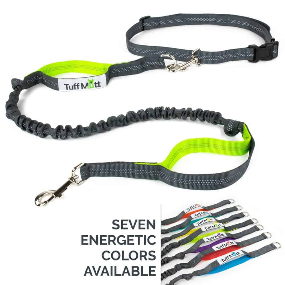 Camping & Hiking black Sports & Entertainment Lovely Hands Free Waist Pet Dog Leash For Running Walking Hiking With Adjustable Waist Pocket Bag