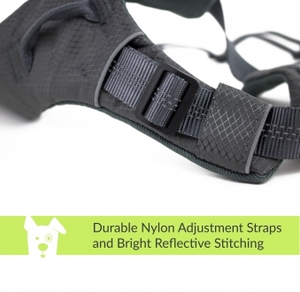 Adventure Dog Harness (Gray/Medium)
