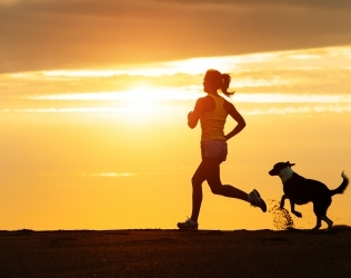 3 Benefits to Running with a Hands Free Leash